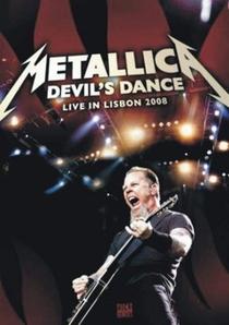 Metallica – Devil's Dance - Live In Lisbon 2008  - Poster / Capa / Cartaz - Oficial 1