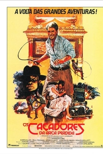 Indiana Jones e os Caçadores da Arca Perdida - Poster / Capa / Cartaz - Oficial 4