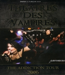 Theatres Des Vampires - The Addiction Tour 2006 - Poster / Capa / Cartaz - Oficial 1