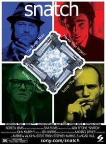 Snatch - Porcos e Diamantes - Poster / Capa / Cartaz - Oficial 3