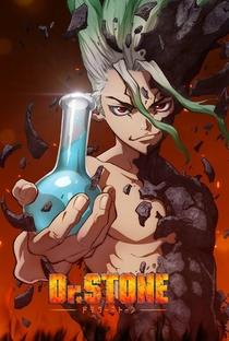 Dr. Stone - Poster / Capa / Cartaz - Oficial 2