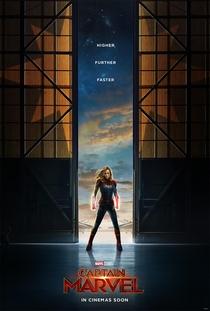 Capitã Marvel - Poster / Capa / Cartaz - Oficial 1