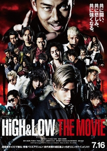 HiGH&LOW THE MOVIE - Poster / Capa / Cartaz - Oficial 1