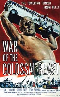 A Volta do Homem Colossal - Poster / Capa / Cartaz - Oficial 1