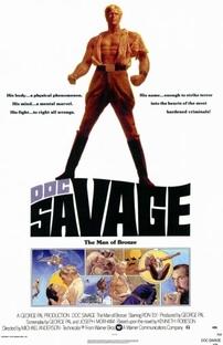 Doc Savage: O Homem de Bronze - Poster / Capa / Cartaz - Oficial 1