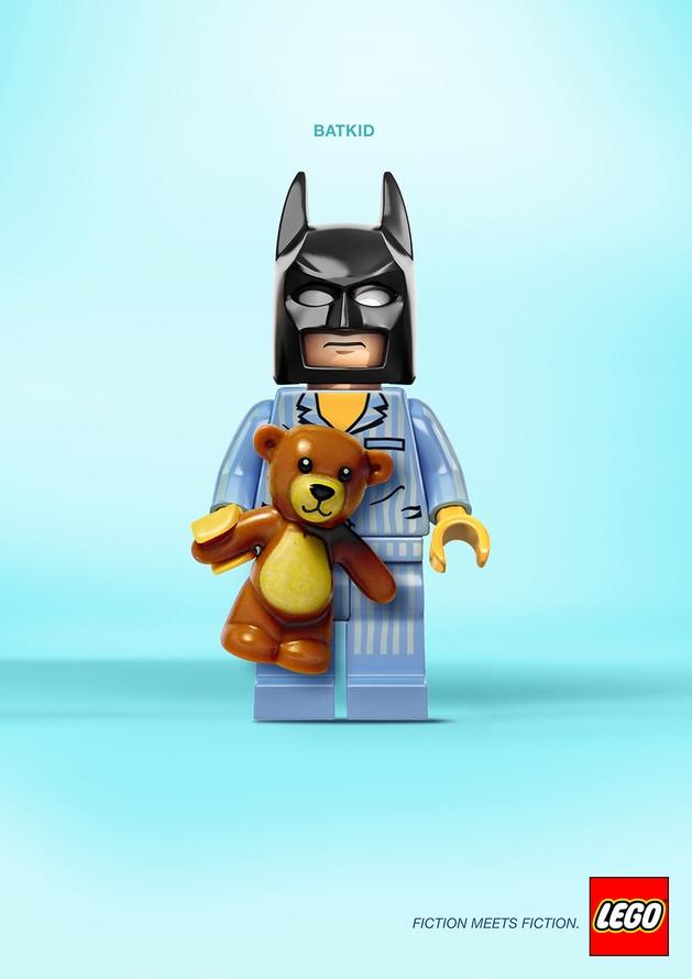 Veja mash ups em LEGO de heróis da cultura pop
