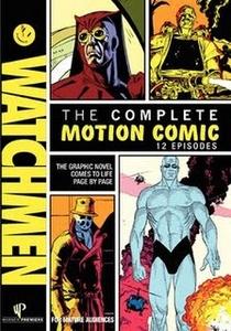 Watchmen - Motion Comic - Poster / Capa / Cartaz - Oficial 1