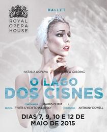 Royal Opera House: O Lago dos Cisnes - Poster / Capa / Cartaz - Oficial 1