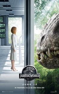 Jurassic World - O Mundo dos Dinossauros - Poster / Capa / Cartaz - Oficial 4