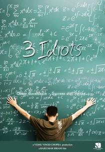 3 Idiotas - Poster / Capa / Cartaz - Oficial 1
