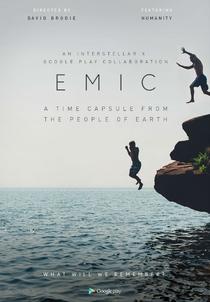 EMIC: An Interstellar Time Capsule Film - Poster / Capa / Cartaz - Oficial 1