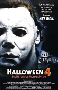 Halloween 4: O Retorno de Michael Myers - Poster / Capa / Cartaz - Oficial 4