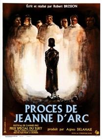O Processo de Joana D'arc - Poster / Capa / Cartaz - Oficial 1