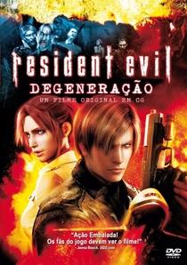 Resident Evil: Degeneração - Poster / Capa / Cartaz - Oficial 4