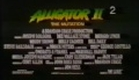 Alligator 2 (The Mutation) Trailer VHS Argentina