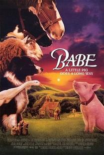 Babe - O Porquinho Atrapalhado - Poster / Capa / Cartaz - Oficial 3