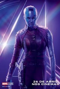 Vingadores: Guerra Infinita - Poster / Capa / Cartaz - Oficial 30