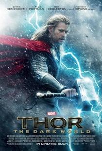 Thor: O Mundo Sombrio - Poster / Capa / Cartaz - Oficial 2