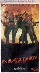 Os Destruidores - Poster / Capa / Cartaz - Oficial 1
