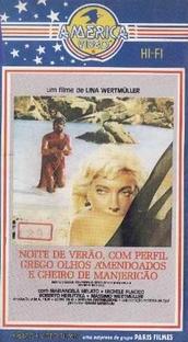 Noite de Verão com Perfil Grego, Olhos Amendoados e Cheiro de Manjericão - Poster / Capa / Cartaz - Oficial 3