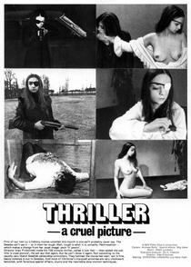 Thriller - Um Filme Cruel - Poster / Capa / Cartaz - Oficial 1