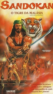 Sandokan - O Tigre da Malásia  - Poster / Capa / Cartaz - Oficial 1