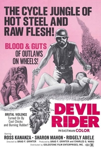 Devil Rider - Poster / Capa / Cartaz - Oficial 1