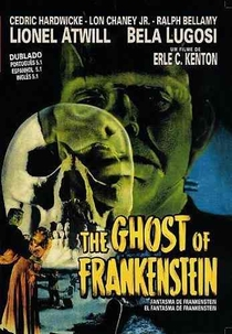 O Fantasma de Frankenstein - Poster / Capa / Cartaz - Oficial 2