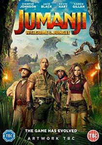 Jumanji: Bem-Vindo à Selva - Poster / Capa / Cartaz - Oficial 12