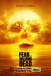 Fear the Walking Dead (2ª Temporada) - Poster / Capa / Cartaz - Oficial 1