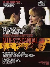 Notas Sobre um Escândalo - Poster / Capa / Cartaz - Oficial 4