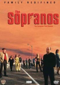 Família Soprano (3ª Temporada) - Poster / Capa / Cartaz - Oficial 1