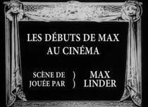 Les débuts de Max au cinéma - Poster / Capa / Cartaz - Oficial 1