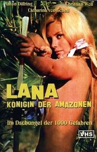 Lana, Rainha das Amazonas - Poster / Capa / Cartaz - Oficial 2