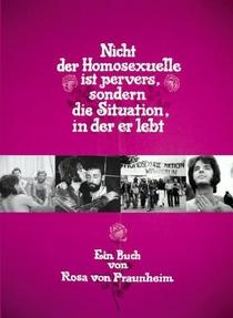 Não É o Homossexual Que É Perverso, mas a Situação em Que Ele Vive - Poster / Capa / Cartaz - Oficial 2