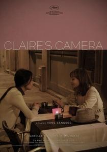 A Câmera de Claire - Poster / Capa / Cartaz - Oficial 3