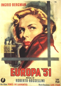 Europa '51 - Poster / Capa / Cartaz - Oficial 4