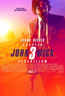 John Wick 3: Parabellum - Poster / Capa / Cartaz - Oficial 1