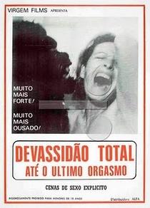 Devassidão Total - Até o Último Orgasmo - Poster / Capa / Cartaz - Oficial 1