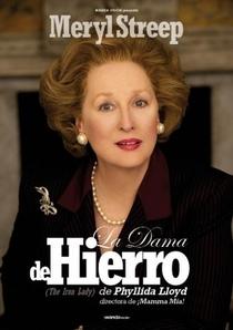 A Dama de Ferro - Poster / Capa / Cartaz - Oficial 3