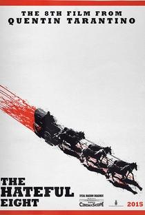 Os Oito Odiados - Poster / Capa / Cartaz - Oficial 3