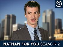 Nathan For You (2° Temporada) - Poster / Capa / Cartaz - Oficial 2