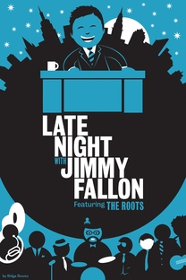Late Night with Jimmy Fallon - Poster / Capa / Cartaz - Oficial 1