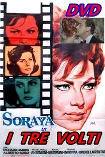 As Três Faces de Uma Mulher - Poster / Capa / Cartaz - Oficial 1