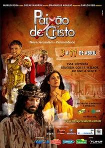Paixão de Cristo de Nova Jerusalém - Poster / Capa / Cartaz - Oficial 1