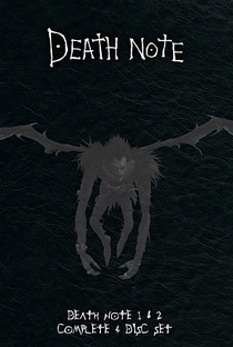 Death Note (1ª Temporada) - Poster / Capa / Cartaz - Oficial 1