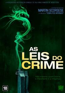 As Leis do Crime - Poster / Capa / Cartaz - Oficial 2