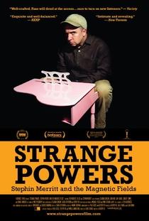 Strange Powers: Stephin Merritt and the Magnetic Fields - Poster / Capa / Cartaz - Oficial 1