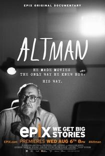 Altman, um Cineasta Americano - Poster / Capa / Cartaz - Oficial 2