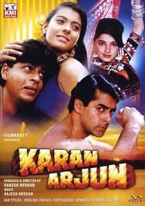 Karan Arjun - Poster / Capa / Cartaz - Oficial 1